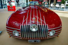 Sports racing car Stanguellini 1100 Sport, 1947. Royalty Free Stock Photography