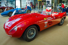 Sports racing car Stanguellini 750 Sport, 1953. Royalty Free Stock Photo
