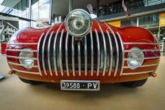 Sports racing car Stanguellini 1100 Sport, 1947. Stock Image