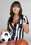 Sports Referee Royalty Free Stock Photography
