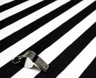 Sports referee whistle Stock Photography