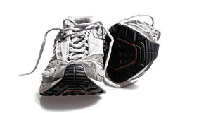 Sports running or gym sneaker Royalty Free Stock Images
