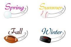 Sports saisonniers Photographie stock