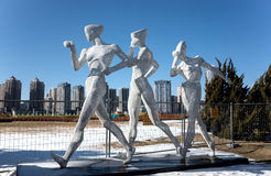 Sports Sculpture Stock Images