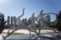 Sports Sculpture Stock Image