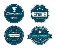 Sports seals Royalty Free Stock Photography