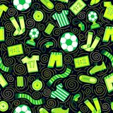 Sports Seamless Pattern stock illustration