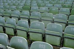 Sports seating Stock Photos