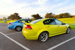 Sports sedan Stock Images