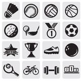 Sports set Stock Photography
