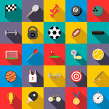 Sports set icons Royalty Free Stock Photo