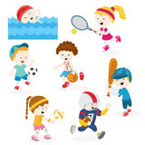 Sports Set Stock Image