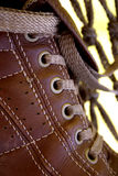 Sports shoe. Close-up royalty free stock images