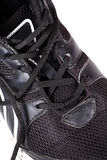 Sports shoe laces Royalty Free Stock Photo
