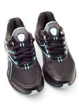 Sports shoes. On a white background Stock Images