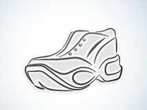 Sports shoes design. Royalty Free Stock Photography