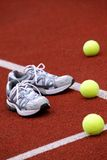 Sports shoes for tennis Stock Photo