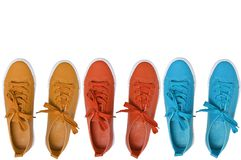 Sports shoes. isolate royalty free stock photography