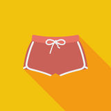 Sports shorts single icon. Royalty Free Stock Photography