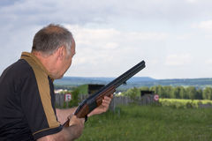 Sports skeet Royalty Free Stock Images