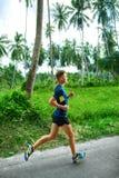 Sports. Sporty Runner Running. Jogger Training, Jogging. Fitness Royalty Free Stock Photo