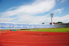 Sports stadium Royalty Free Stock Image