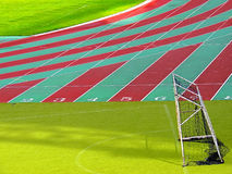 Sports stadium for national and international meetings Royalty Free Stock Photography
