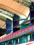 Sports stadium for national and international meetings Stock Photos