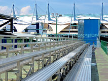 Sports stadium for national and international meetings Stock Image