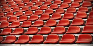Sports Stadium Seating Royalty Free Stock Photography