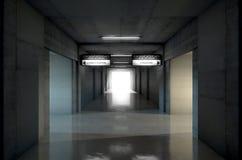 Sports Stadium Tunnel Royalty Free Stock Photography