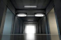 Sports Stadium Tunnel Royalty Free Stock Image