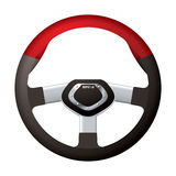 Sports steering wheel Stock Photography
