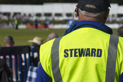Sports steward Stock Image