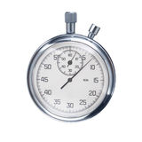 Sports stopwatch isolated on a white background royalty free stock images
