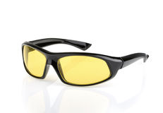 Sports sunglasses isolated Royalty Free Stock Images