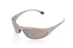 Sports sunglasses  on white Royalty Free Stock Photo
