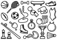 Sports Symbole Lizenzfreie Stockfotografie