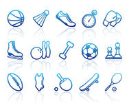 Sports symbols Stock Photography