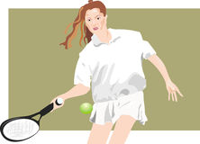 Sports, tennis Stock Image