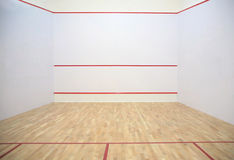 In sports tennis hall Royalty Free Stock Image