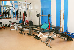 Sports training apparatus Stock Images