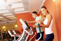 Sports training Royalty Free Stock Photo