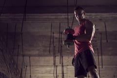 Sports training Stock Image