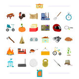 Sports, travel, education and other web icon in cartoon style.agriculture, cooking, refining icons in set collection. Stock Image