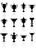 Sports trophies and awards Royalty Free Stock Photos