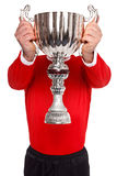 Sports trophy royalty free stock images