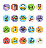 Sports Vector Icons 5 royalty free illustration