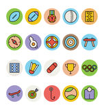 Sports Vector Icons 4 Stock Photography
