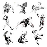 Sports vector illustration Royalty Free Stock Image